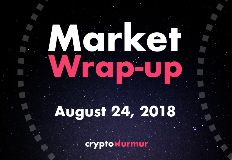 Market Wrap Up August 24, 2018