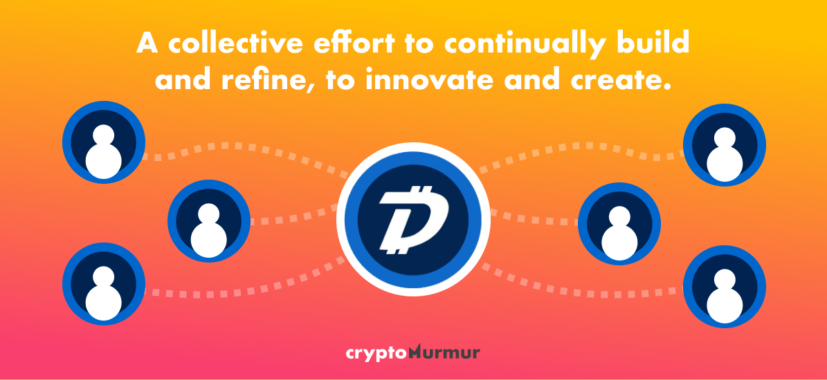 DigiByte relies on a collective effort