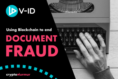 Using Blockchain to end document fraud. V-ID