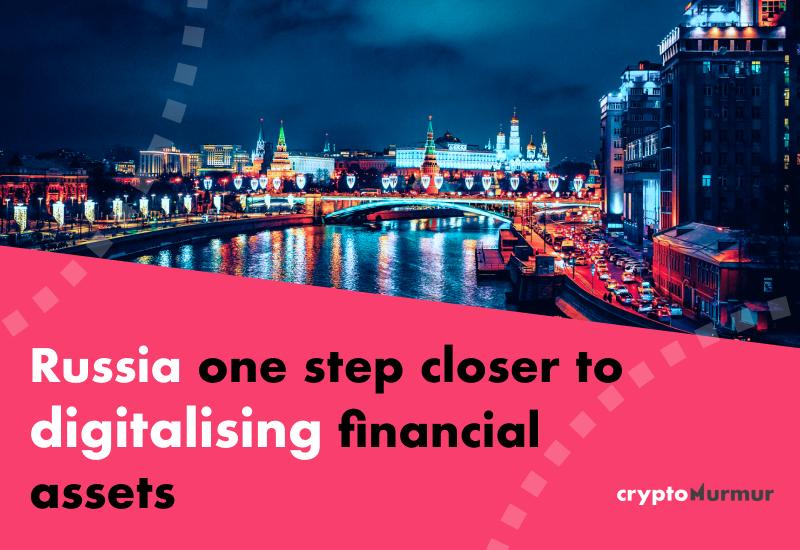 russia digitalising financial assets